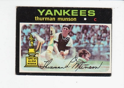 1971 Topps #5 Thurman Munson