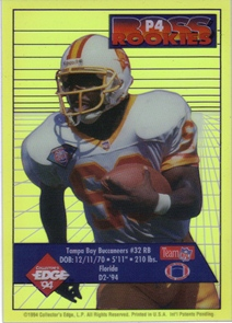 1994 Collector's Edge Boss Rookies Update Pop Warner Promos #P4 Errict Rhett