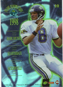 1998 Collector's Edge Advantage Prime Connection #10 M.Brunell/J.Stewart