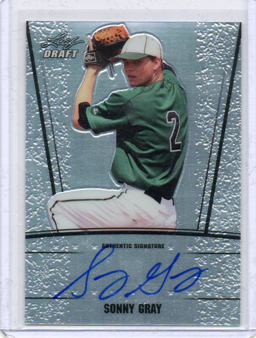 2011 Leaf Metal Draft Prismatic #SG1 Sonny Gray