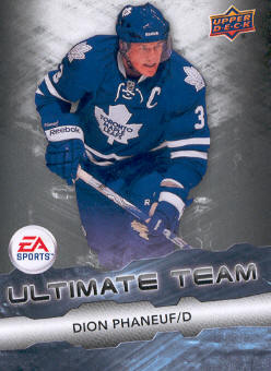 2011-12 Upper Deck EA Ultimate Team #EA12 Dion Phaneuf