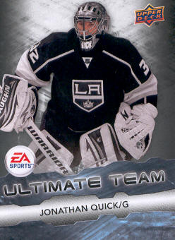 2011-12 Upper Deck EA Ultimate Team #EA15 Jonathan Quick