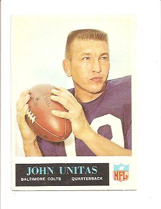 1965 Philadelphia #12 Johnny Unitas