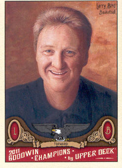2011 Upper Deck Goodwin Champions #37 Larry Bird