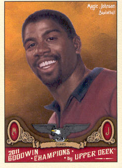 2011 Upper Deck Goodwin Champions #90 Magic Johnson