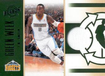 2010-11 Panini Season Update Green Week Jerseys #12 J.R. Smith/499