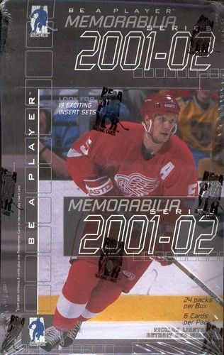 2001-02 BAP Be A Player Memorabilia Hockey Hobby Box