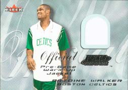 2000-01 Fleer Feel The Game #35, Antoine Walker