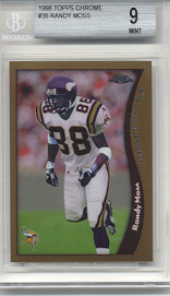 1998 Topps Chrome Randy Moss Rookie