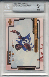 1999 Upper Deck Edgerrin James Rookie