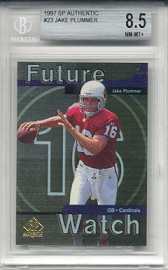 1997 Upper Deck SP Authentic Jake Plummer Rookie