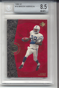 1996 Upper Deck Sp Marvin Harrison Rookie