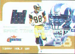 2001 Fleer Game Time Uniformity #TH, Torry Holt