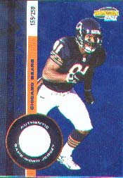 2001 Pacific Invincible Blue #42, Bobby Engram /250 JSY