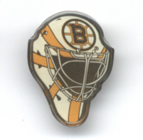 Boston Bruins Goalie Mask Lapel/Hat Pin