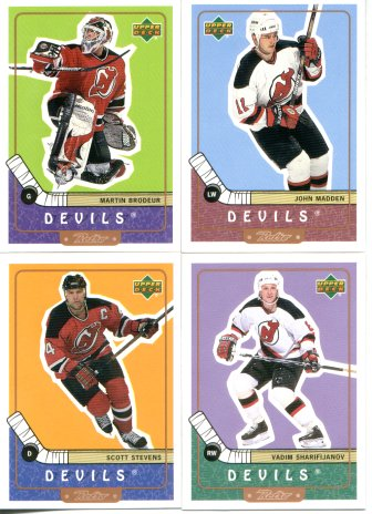 New Jersey Devils 1999-00 Upper Deck Retro Team Set