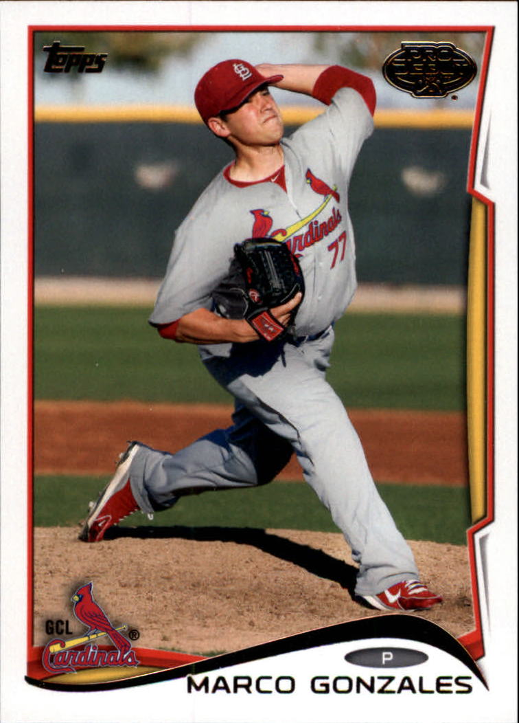 2014 Topps Pro Debut #161 Marco Gonzales