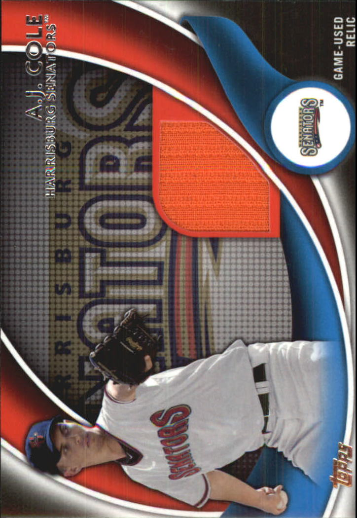 2014 Topps Pro Debut Debut Duds Jerseys #DDAC A.J. Cole