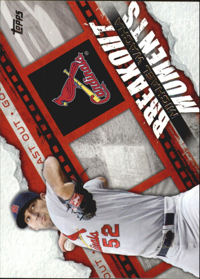 2014 Topps Breakout Moments #BM22 Michael Wacha