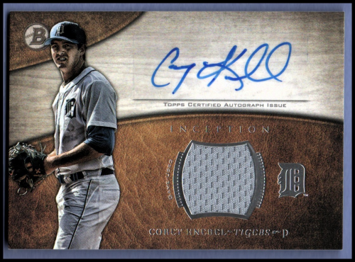 2014 Bowman Inception Relic Autographs #ARCK Corey Knebel