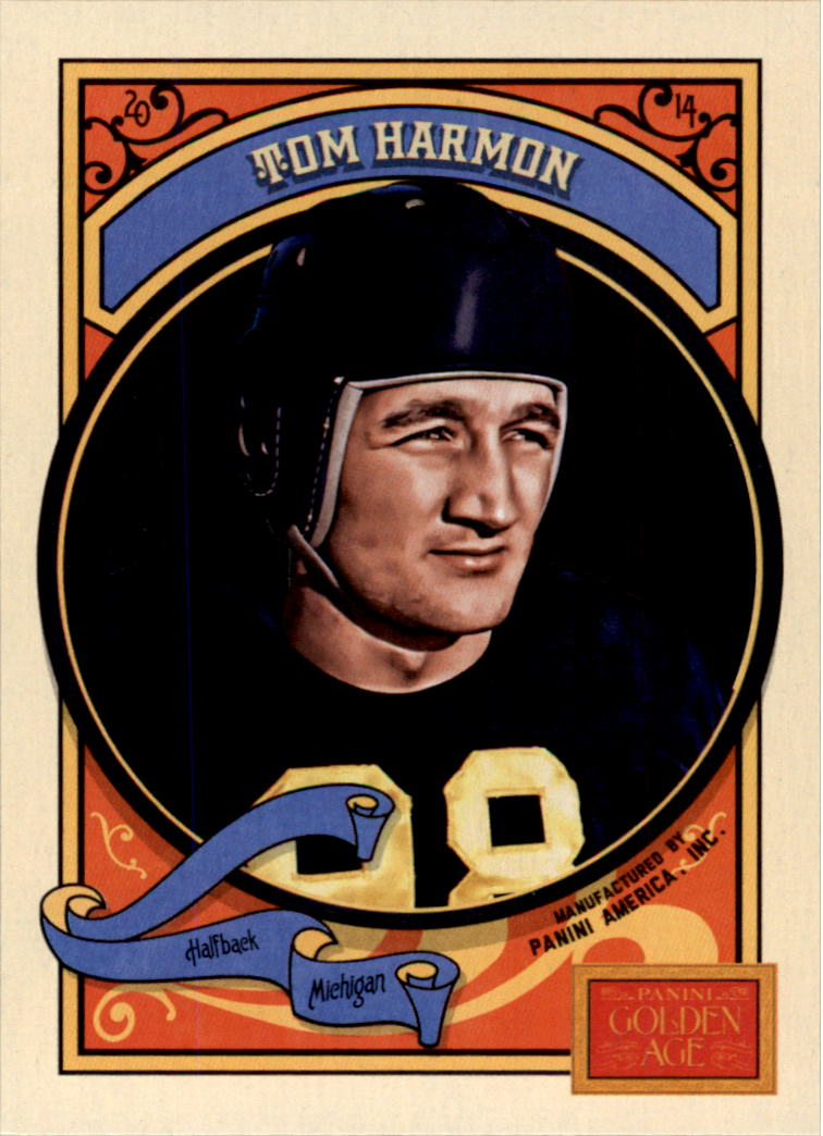 2014 Panini Golden Age #51 Tom Harmon
