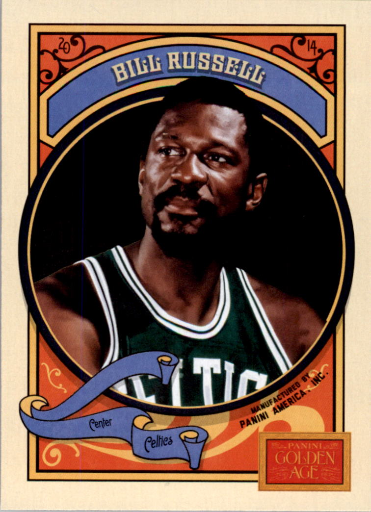 2014 Panini Golden Age #101 Bill Russell