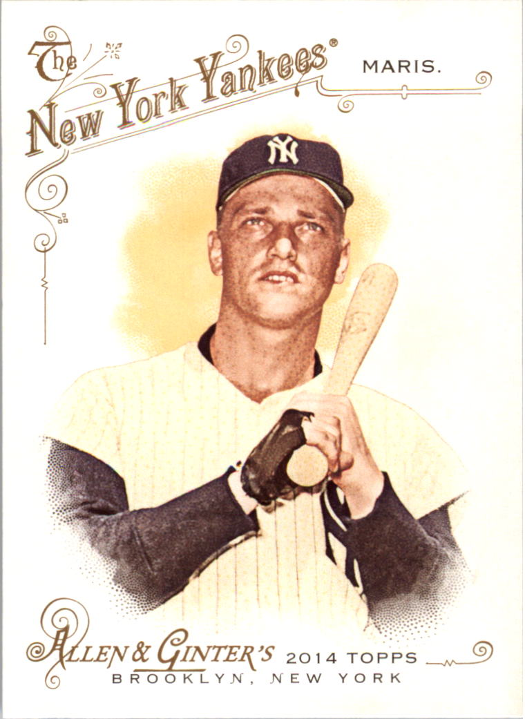 2014 Topps Allen and Ginter #1 Roger Maris