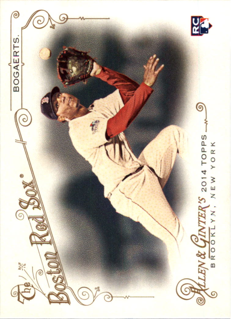 2014 Topps Allen and Ginter #133 Xander Bogaerts RC