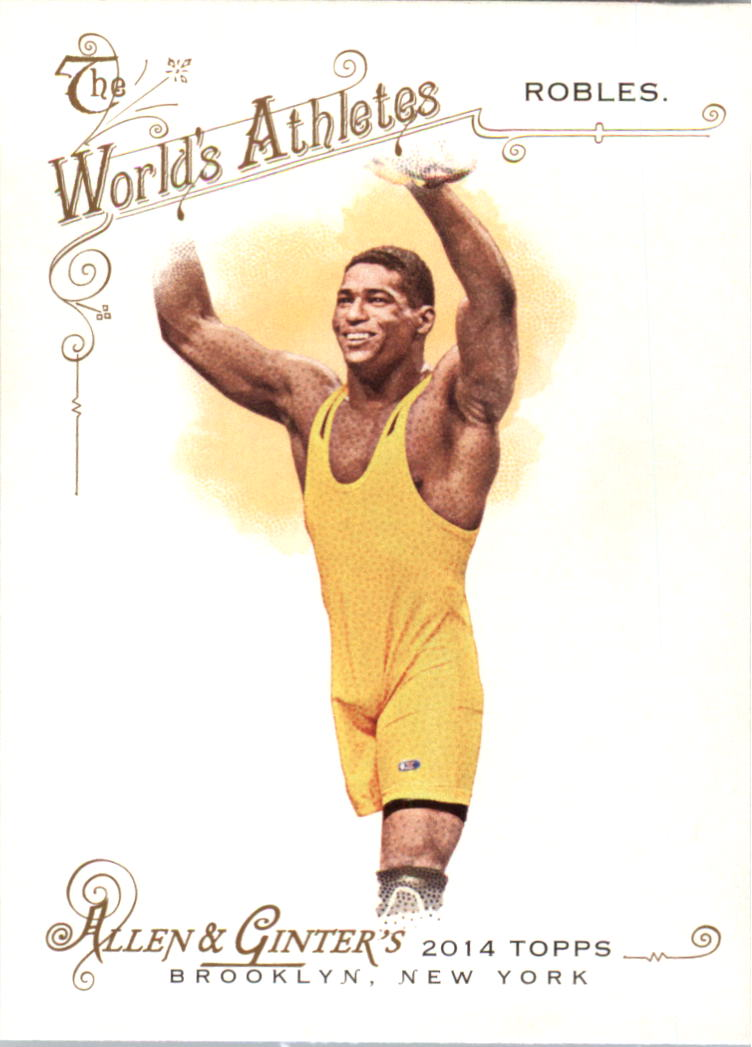 2014 Topps Allen and Ginter #176 Anthony Robles
