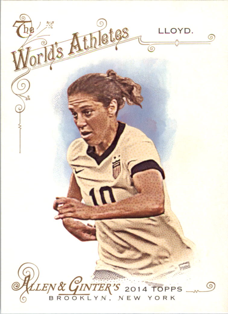 2014 Topps Allen and Ginter #214 Carli Lloyd