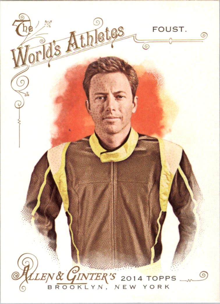 2014 Topps Allen and Ginter #224 Tanner Foust
