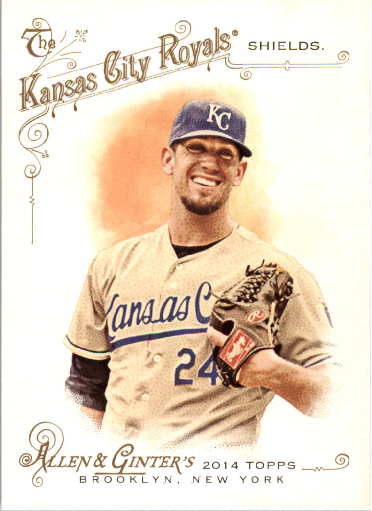 2014 Topps Allen and Ginter #237 James Shields
