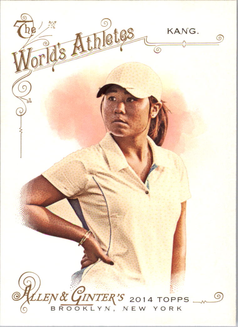 2014 Topps Allen and Ginter #273 Danielle Kang