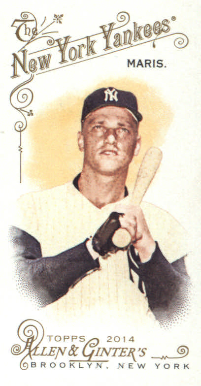 2014 Topps Allen and Ginter Mini #1 Roger Maris