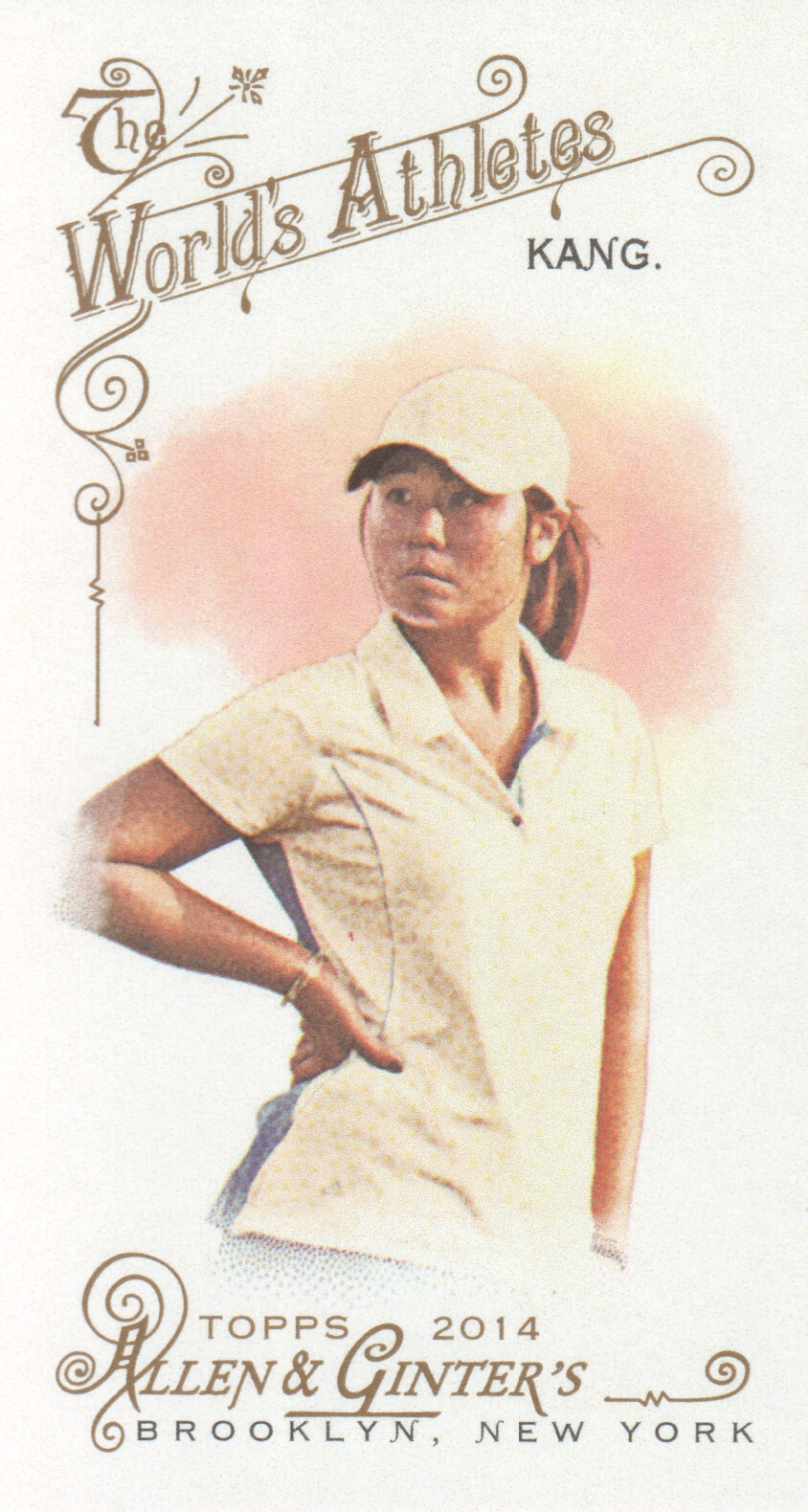 2014 Topps Allen and Ginter Mini #273 Danielle Kang