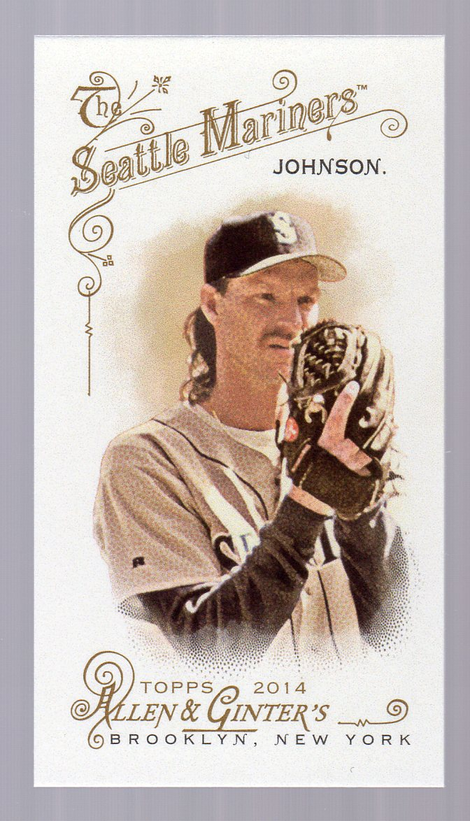2014 Topps Allen and Ginter Mini A and G Back #86 Randy Johnson