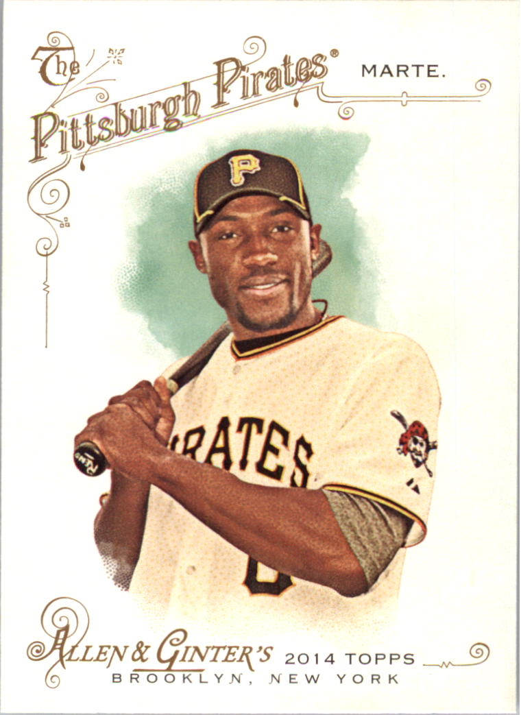 2014 Topps Allen and Ginter Mini A and G Back #182 Starling Marte