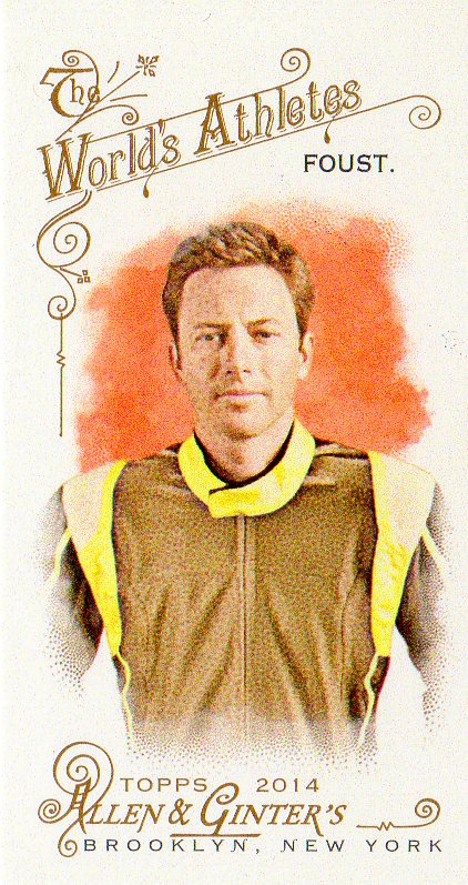 2014 Topps Allen and Ginter Mini A and G Back #224 Tanner Foust