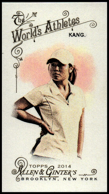 2014 Topps Allen and Ginter Mini A and G Back #273 Danielle Kang