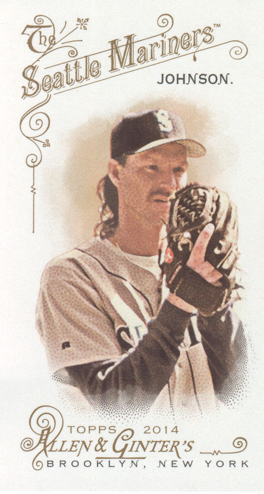 2014 Topps Allen and Ginter Mini No Card Number #86 Randy Johnson