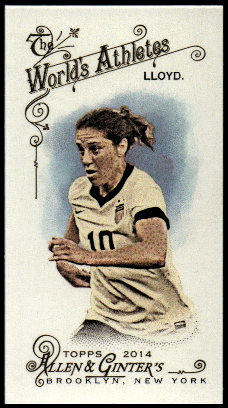 2014 Topps Allen and Ginter Mini No Card Number #214 Carli Lloyd