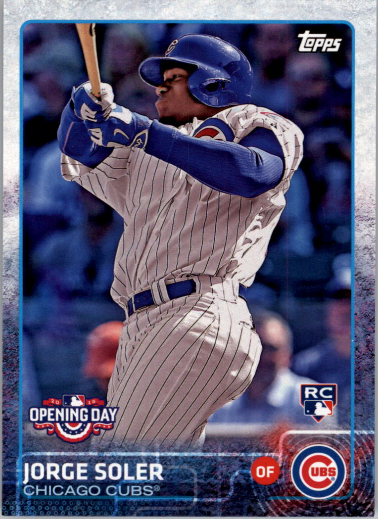 2015 Topps Opening Day #25 Jorge Soler RC
