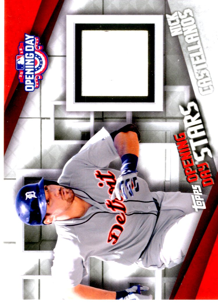 2015 Topps Opening Day Relics #ODRNC Nick Castellanos