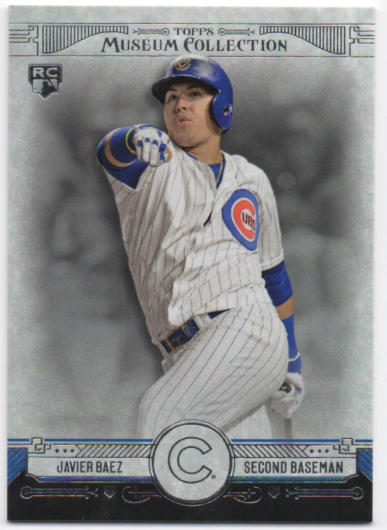 2015 Topps Museum Collection #96 Javier Baez RC