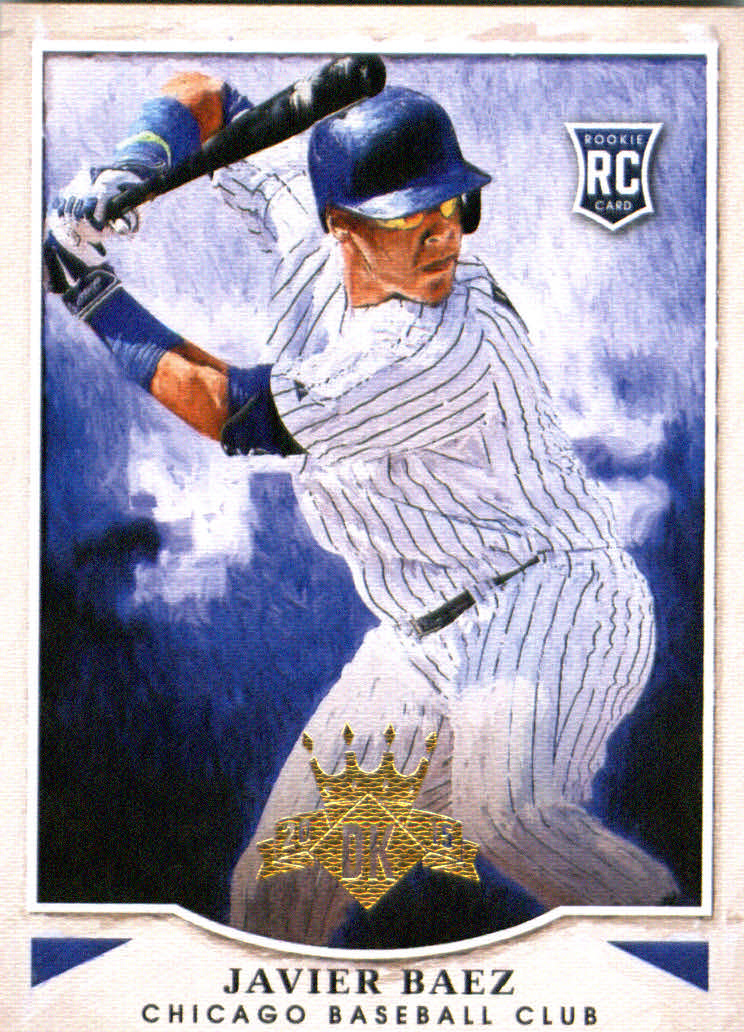 2015 Diamond Kings #164A Javier Baez RC