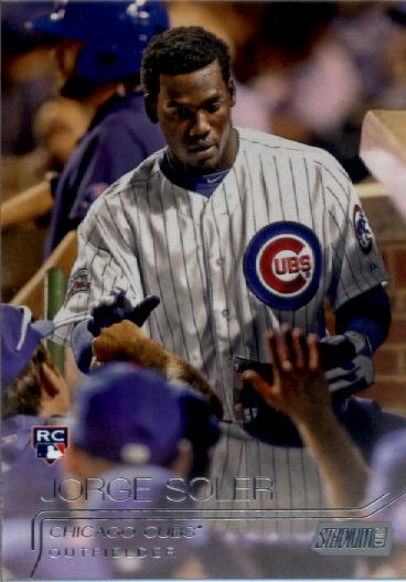 2015 Stadium Club #92 Jorge Soler RC