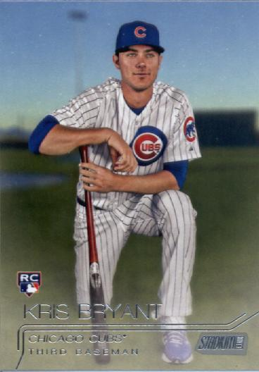 2015 Stadium Club #300 Kris Bryant RC