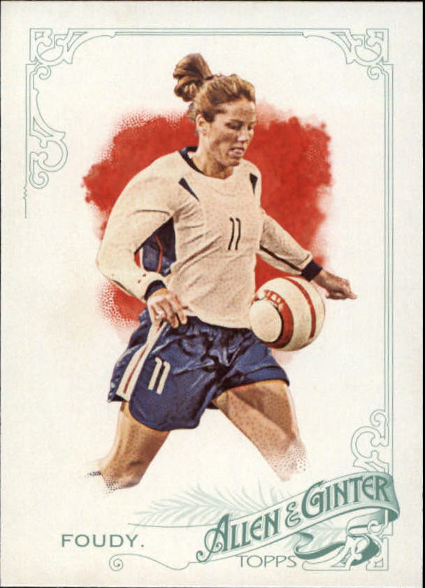 2015 Topps Allen and Ginter #167 Julie Foudy