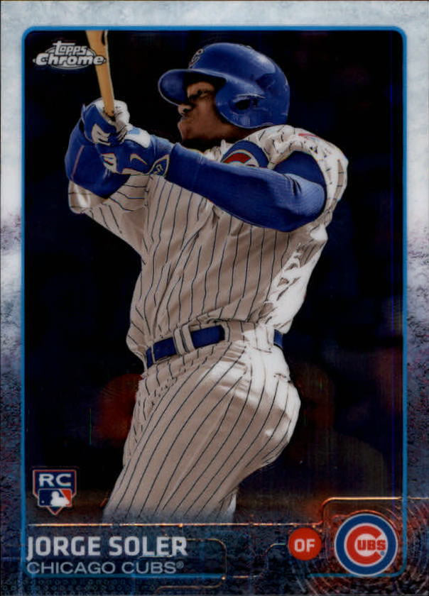 2015 Topps Chrome #154A Jorge Soler RC