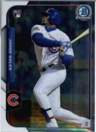 2015 Bowman Chrome #171 Jorge Soler RC